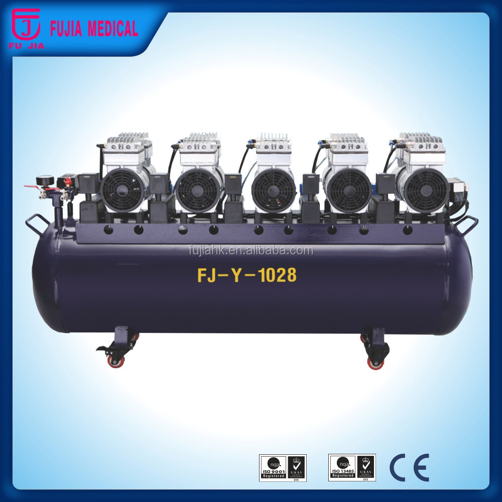 Oilless Air Compressor Hottest Products Easy Transport Portable Dental Unit