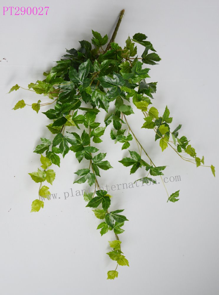 Close Nature artificial Plant Green /autumn creepers bush home decration garden hanging wall vine
