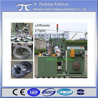 Coil stretch packing machine GW200; cable coiling machine; horizontal coil packing machine GW200