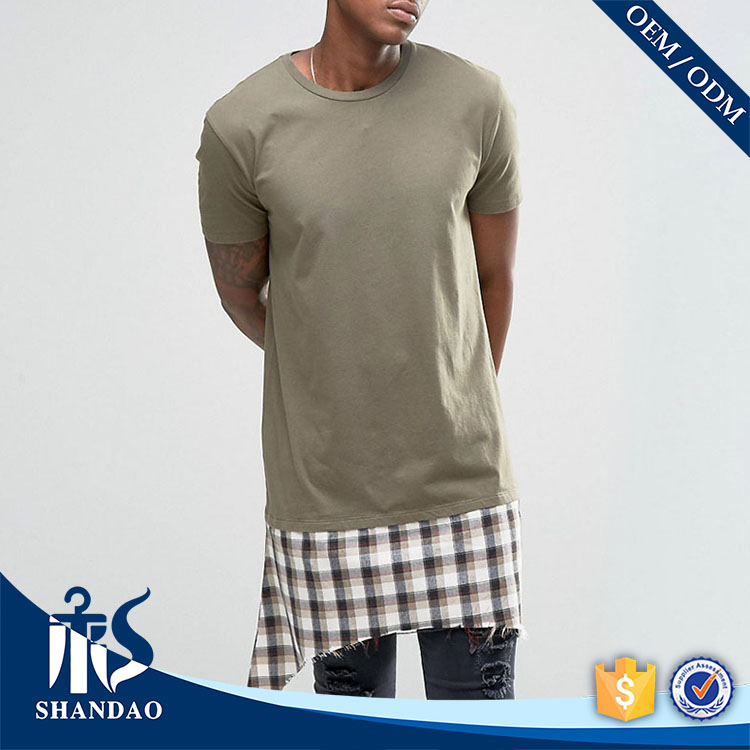 Guangzhou Shandao Extended 140g 95% Cotton 5% Spandex O-Neck Men's top 5 brand t shirt for men