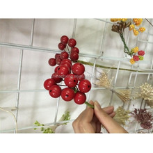 Waterproof decorative berry pick with different sizes