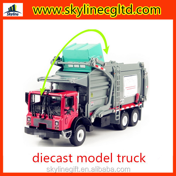 High quality 1:24 diecast models truck materal transporter