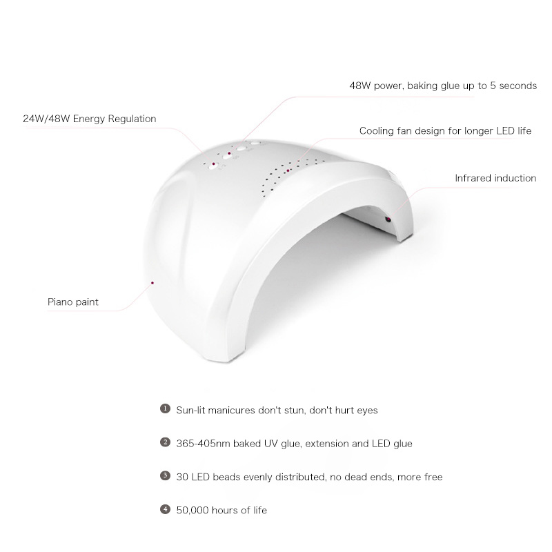 2020 New Trend Salon Nail Dryer Led Lamp Electric Fast Drying Nail Gel Dryer With Private Label