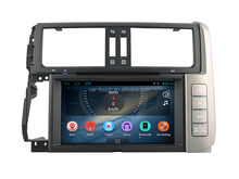 touch screen 6.2'' car stereo for toyota prado 2009- 2013 automobile dvd with car audio 3G Wifi Bluetooth radio