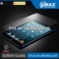 Vmax ultra thin tempered glass screen protector / tablet accessories for IPad mini (AG)