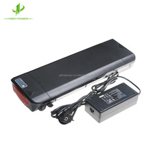 Rechargeable Battery 48V 13.6Ah Rear Rack Type Lithium Battery Pack For E- bike With Charger