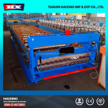 Color Steel Russian Type Roof Roller Former Making Machine Chinese Manufacturer