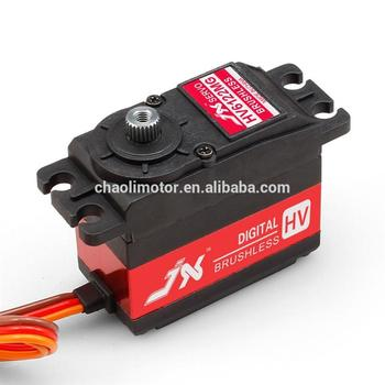 strong torque overloaded rc servo motor BLS-HV6122MG with metal brush