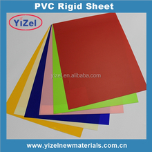 2017 hot sizes High Quality China factory 4x8 clear pvc rigid sheet for making card