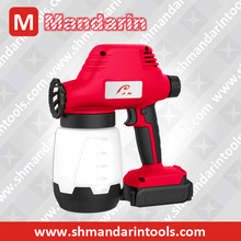MANDARIN - CORDLESS solenoid Spray Gun, solenoid paint sprayer, 18V DC