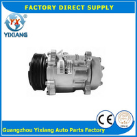 4 Seasons 68153 Sanden 7V16 A/C Compressor 1201853 8646009 Compressor For Fiat