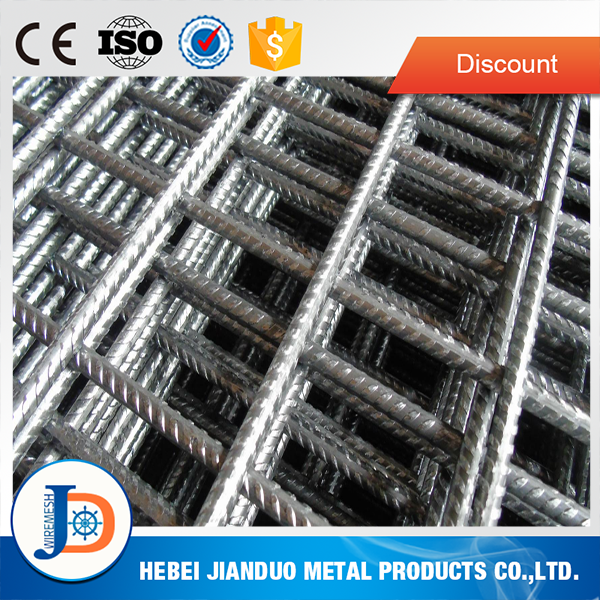 manufacturer high quality concrete steel wire a252 reinforcing mesh 4.8m