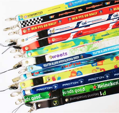 lanyard with full colours print