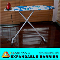 China MXP rubber feet ironing board,hotel ironing board