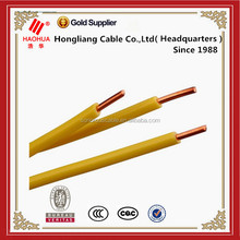PVC insulated one core copper wire and cable