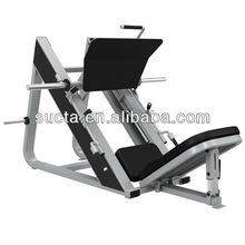 Commercial exercise equipment , Plate-Loaded Angled Leg Press