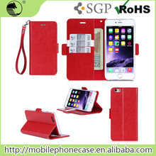 Low Price Mobile Phone Stand Wallet Flip Cover For Mobile Phone