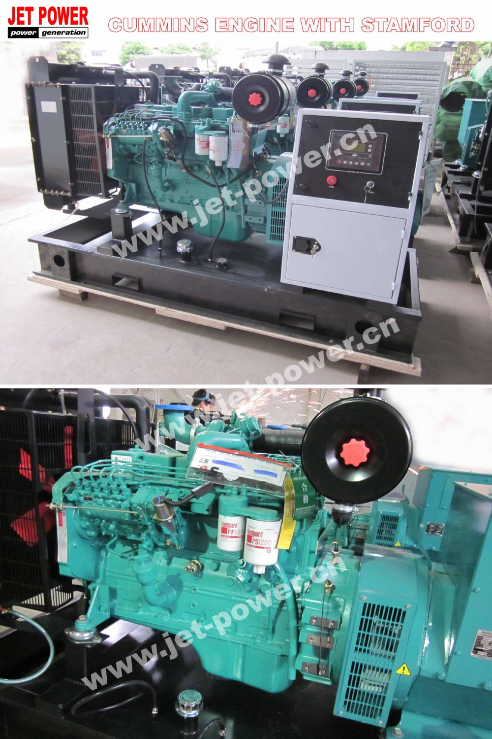 200Kva Diesel Engine Cummins power Generator for sale