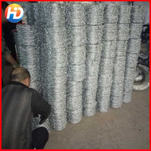 Electro and Hot dipped cheap galvanized barbed wire fence (specialized manufacturer)
