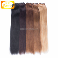 Best Selling China High Quality Human Hair Factory Wholesale Brazilian Human Virgin Hair Double Drawn Weft