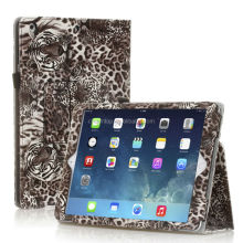 Tiger Design Stand Leather Case For iPad 5 iPad5