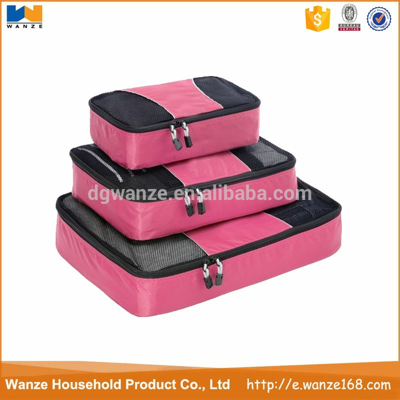 Packing Cubes For Travel Luggage Suitcase And Bags Organisation - Single Cube Large / Medium /Small