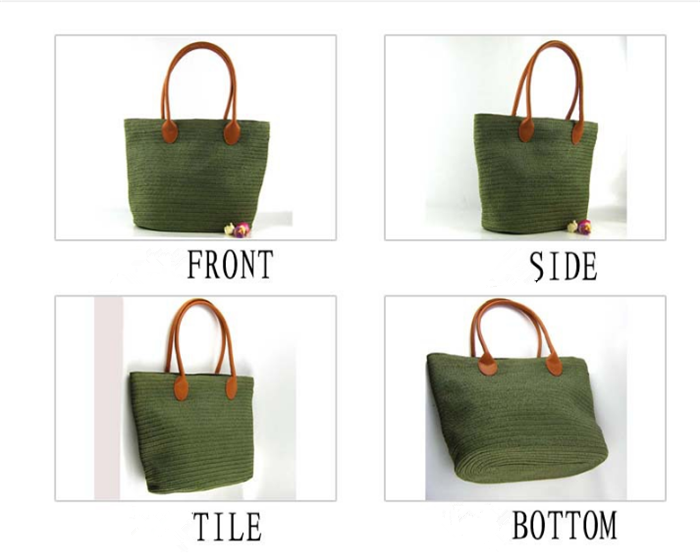 Hot Large Straw Bag,Fashion Design Natural Hand Made Rattan Bag