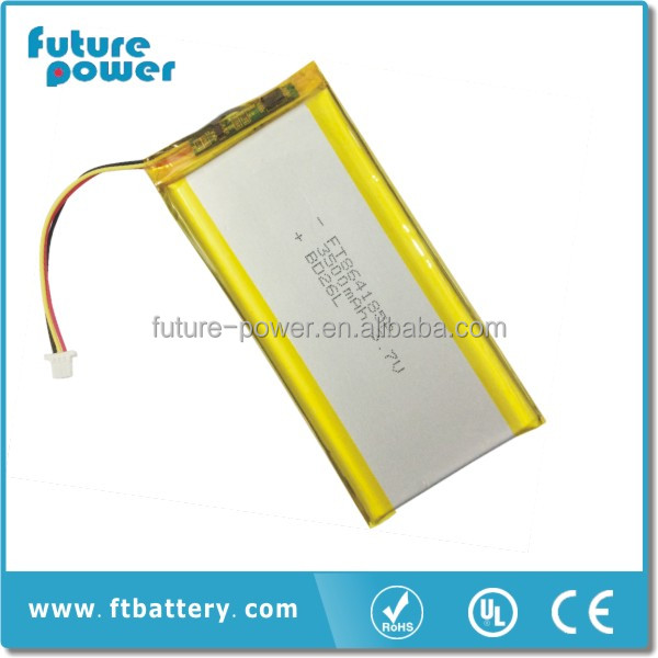 New Rechargeable Lithium-ion Battery 5v 3500mah