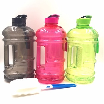 2200ml PETG Patented product Water Bottle For Fitness Protein Powder