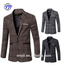 Casual Design Hem Style Mens Blazers Coat Wool Suits for Men