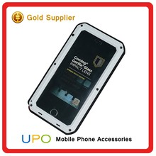 [UPO] Heavy Duty Shockproof Aluminum Metal Waterproof Case Gorilla Glass Cover for iPhone 6 6 plus