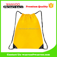 China Leading Fashionable Waterproof Drawstring Backpack For College Student
