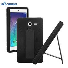 Shockproof rugged heavy duty case 7 inch tablet case kickstand cover case for Alcatel one touch pop 7 lte 9015