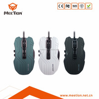 High quality 2500 DPI 9 button USB gaming mouse