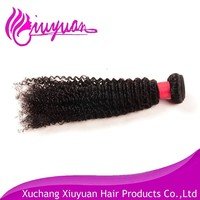 Unprocessed professional highlight 100% human malaysia hair curly hair