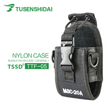 Portable two way radio leather case MSC-20A walkie talkie nylon case for Baofeng radios nylon leather case