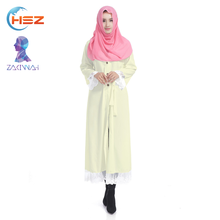 Zakiyyah 7902 Spring Autumn Lady Dress Sexy Women's Muslim Dress Long Maxi Korean Dresses New Fashion Clothing