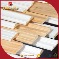 foam fillet wood moulding / beautiful photo frames / gesso painting skirting baseboard