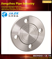 stainless steel flange and pad