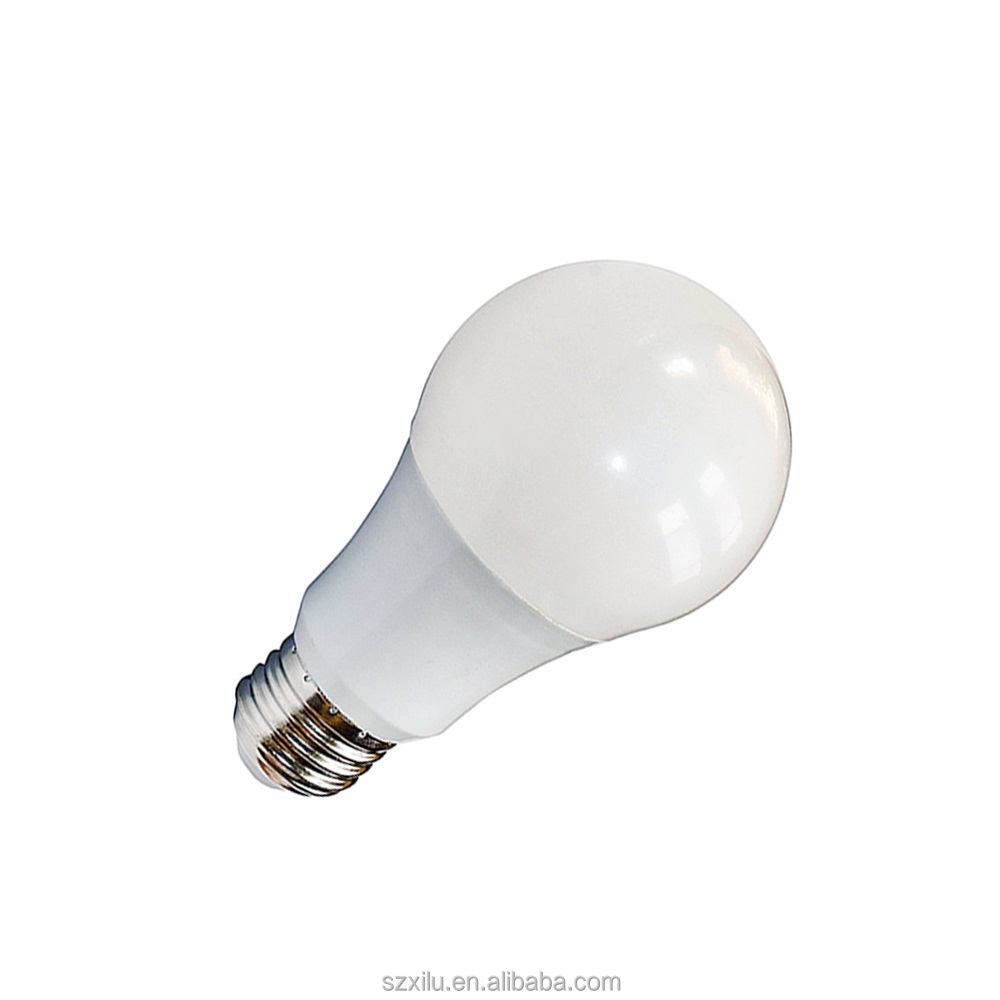 Shenzhen manufacturer Led a19 e26 bulb light replace incandescent 6.5w-15w 500lm-1600lm 2700-5000K