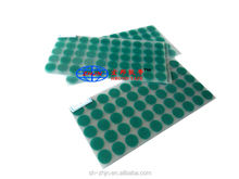 China Market Best High Temperature Powder Coating Green PET Masking Dots