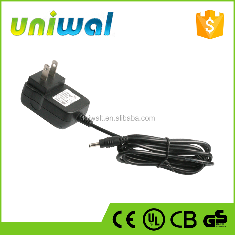 24V 0.5A Power Adapters OEM Factory Supply 12W Wall AC/DC Power Adapter with UL Certificate