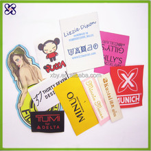 Cheap private woven clothing care labels manufacturers of high quality