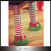 Elf Stocking Christmas Table Leg Cover