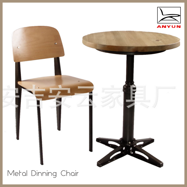 Fashion design wooden school table and chair for sale