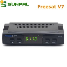 new Freesat V7HD Freesat V7/V 7 svbs2 digital world satellite receiver