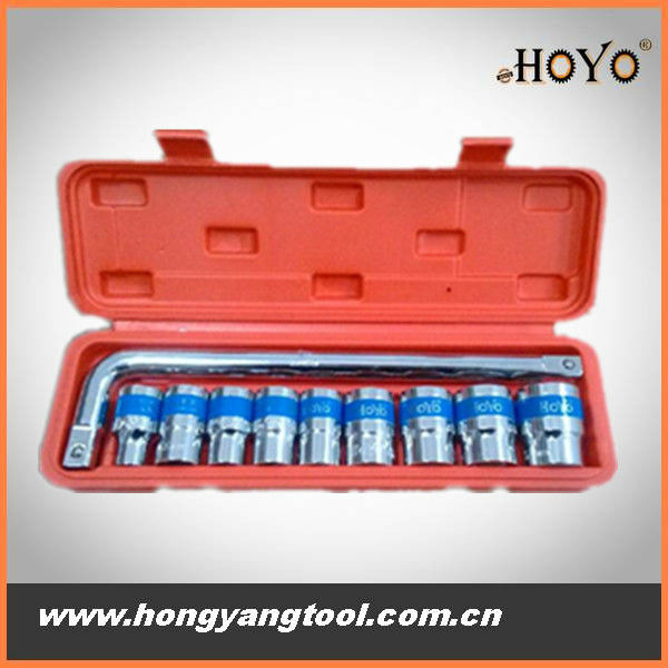10pcs Socket wrench, drop forged tool customized