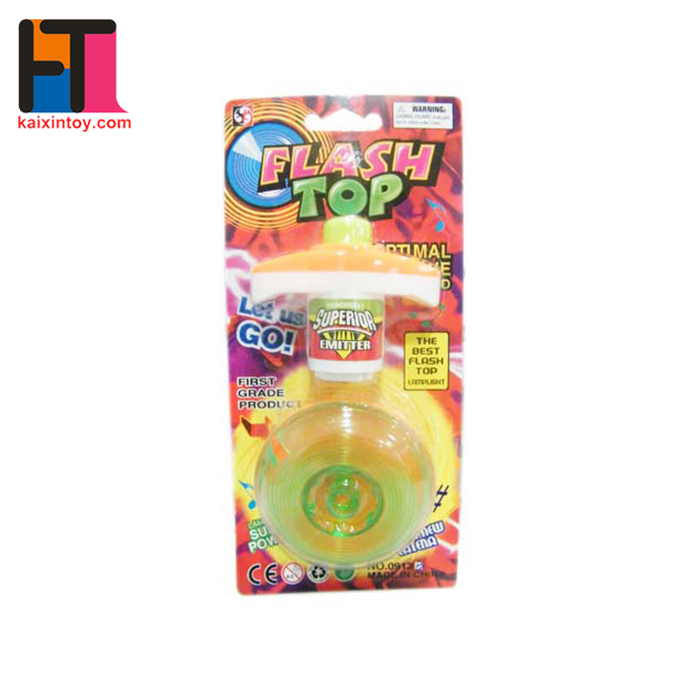 1092548 Hot sell Flashing Spinning Tops