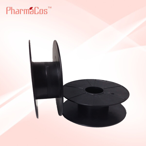 PP plastic empty spool for 3d filaments with 200mm diameter