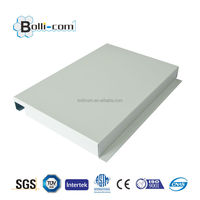 Aluminium corrugated ceiling panel